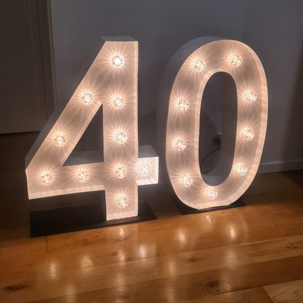 40 giant numbers