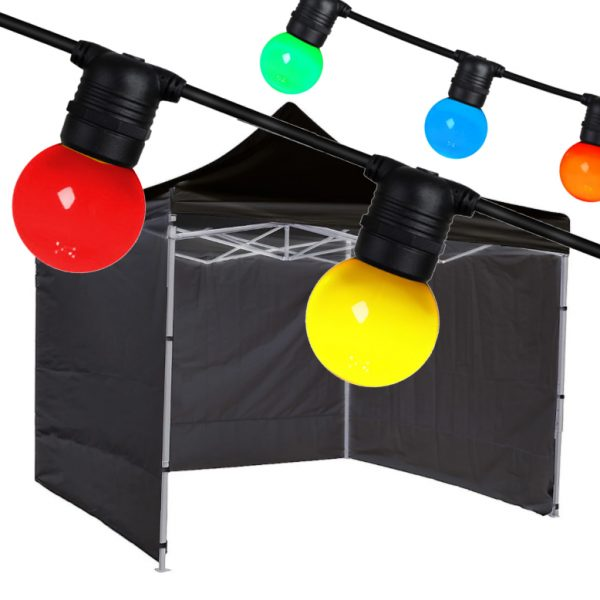 3 X 3 Party Tent and Festoon